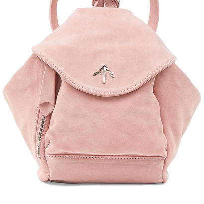 MANU atelierマニュアトリエ Red fernweh Mini suede backpack $584バッグ ピンク