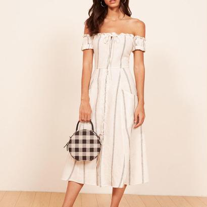 REFORMATION(リフォーメーション)   fig dress ワンピース 定価$248