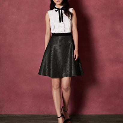ted baker  テッドベーカー Ruffle and bow skater dress ワンピース $349