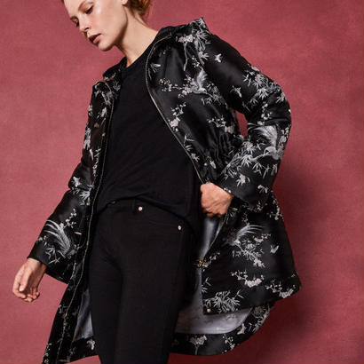 ted baker  テッドベーカー The Orient printed parka ジャケット $645
