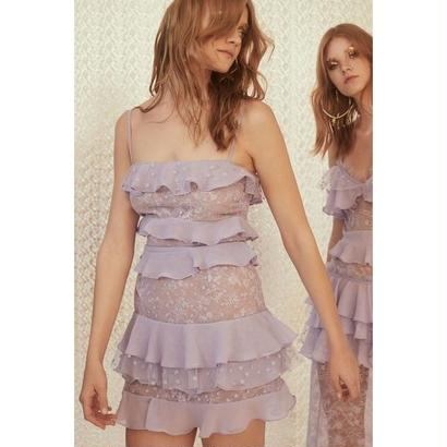 for love & lemons   Cosmic Tiered Lace Dress   ワンピース $285