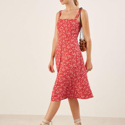 REFORMATION(リフォーメーション)    Persimmon Dress ワンピース 定価$198