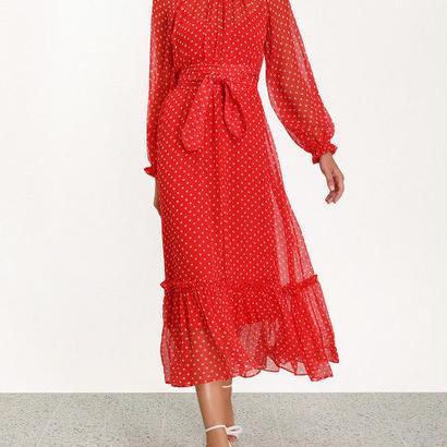 zimmermann ジマーマン NINETY-SIX SWING DRESS ワンピース$950