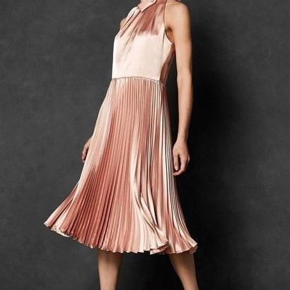 ted baker  テッドベーカー Shineey Pleated Dress $395