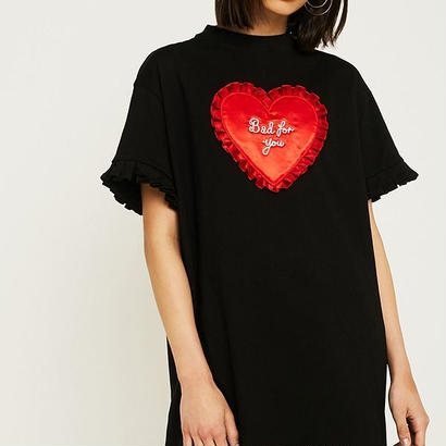 LAZY OAF  Lazy Oaf Bad For You T-Shirt Dress
