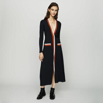 Maje マージュ WRAP KNIT DRESS 定価$370