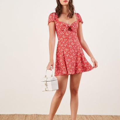 REFORMATION(リフォーメーション)   Elio Dress ワンピース 定価$198