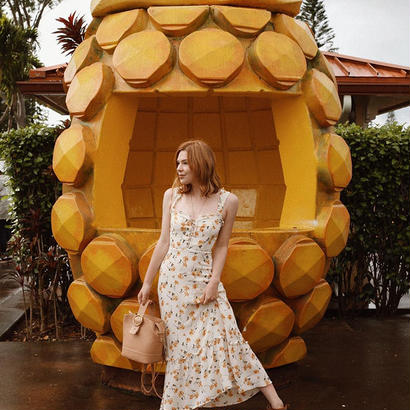 REFORMATION(リフォーメーション)  Naples Dress ワンピース 定価$248