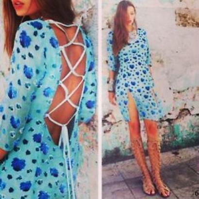 for love & lemons Rosita  Dress ワンピース $350