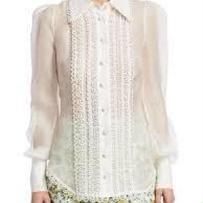 zimmermann ジマーマン Golden Doily shirt  ブラウス 定価$795