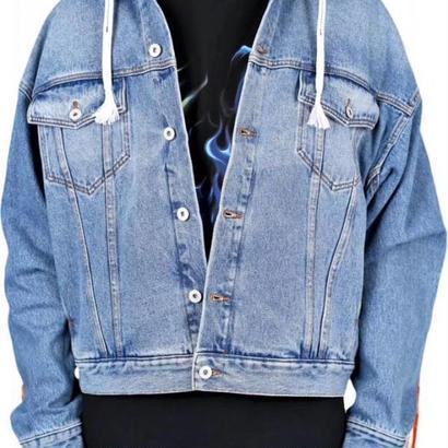 Heron Preston(ヘロンプレストン) B Parachute Denim Jacket デニムジャケット 定価$750