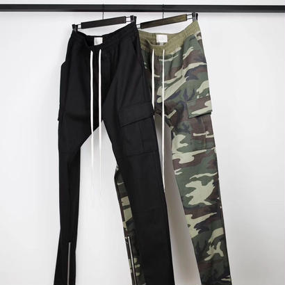 FEAR OF GOD  Camouflage Drawstring Cargo Pants