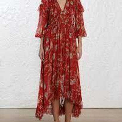 zimmermann ジマーマン Corsair Iris Cape Dress ワンピース$1718
