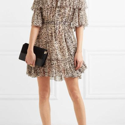 zimmermann ジマーマン off-shoulder floral dress ワンピース 定価$917