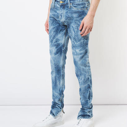 FEAR OF GOD bleached effect slim-fit jeans デニムパンツ