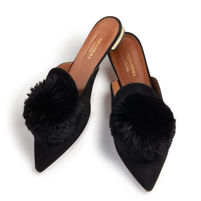 AQUAZZURA  フラットシューズ Powder Puff flats $486