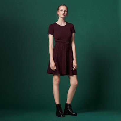 sandro サンドロ    KNITTED DRESS ワンピース $395