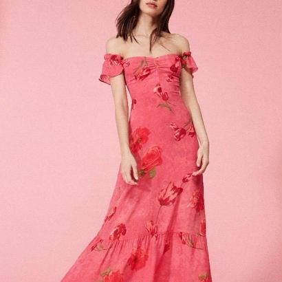 REFORMATION(リフォーメーション) tropica  dress  ワンピース 定価$248