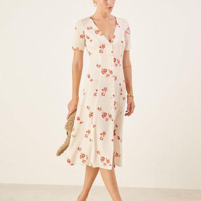REFORMATION(リフォーメーション)   Locklin Dress ワンピース 定価$198