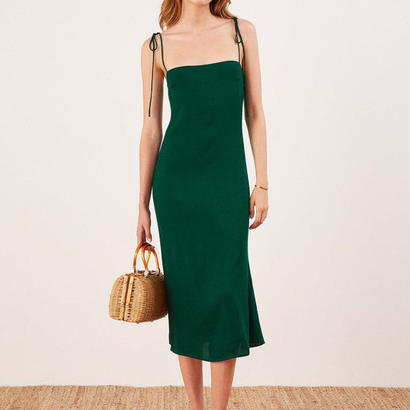 REFORMATION(リフォーメーション) Finley Dress ワンピース 定価$150