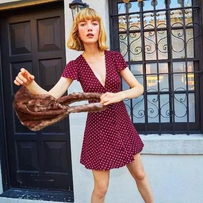 REFORMATION(リフォーメーション)   Monroe dress ワンピース 定価$198