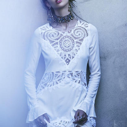 for love & lemons valentina mini dress ワンピース $295