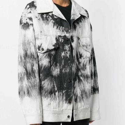 FAITH CONNEXION  Bleached Denim Oversized Jacket ジャケット 定価12万