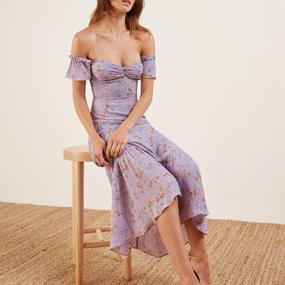 REFORMATION(リフォーメーション) flower  dress  ワンピース 定価$248