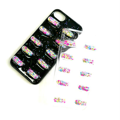 【iPhone6-8対応】カプセルiPhoneケース(薬)