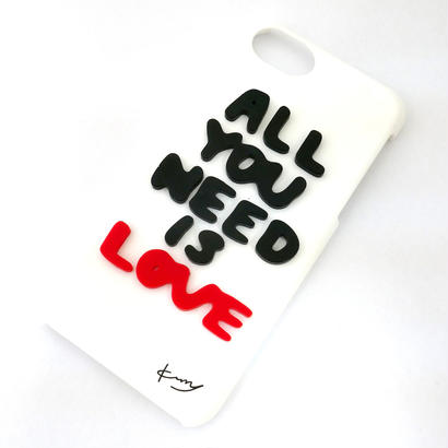 All you need is LOVE iPhoneケース