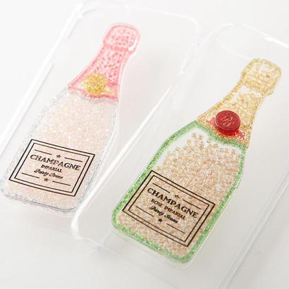 シャンパンビーズ  iPhoneケース