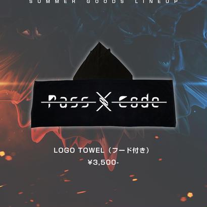 【PassCode】LOGO TOWEL (フード付き)