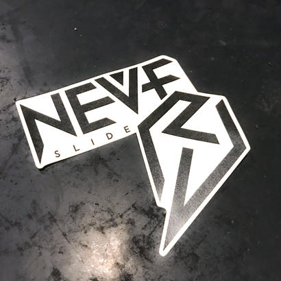 【NEVE SLIDE DOWN】 Logo Sticker(2枚入り)