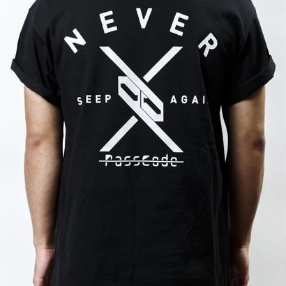 【PassCode・オンライン限定】T-shirt (BLACK)『Again』
