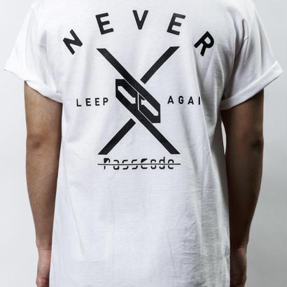 【PassCode・オンライン限定】T-shirt (WHITE)『Again』