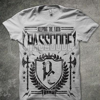【PassCode】PassCode T-shirt (アッシュ)