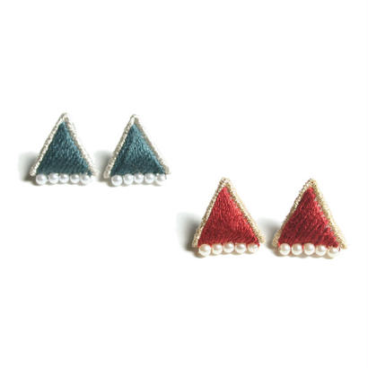 PRISM TRIANGLE PIERCE / EARRING (14AW colour)