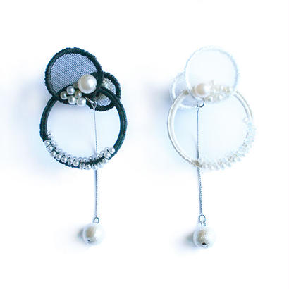 kazalico × patterie Circle Bubble Pierce
