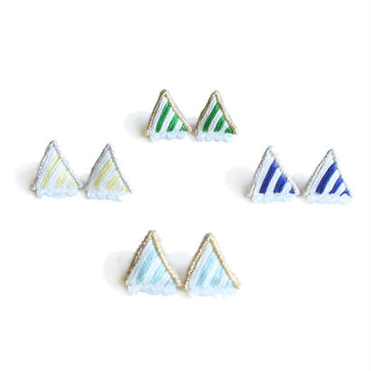PRISM STRIPE PIERCE / EARRING