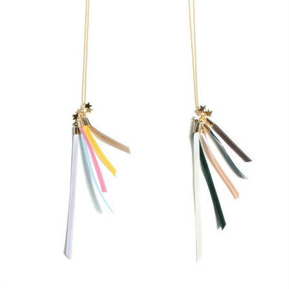 ribbon reeds necklace