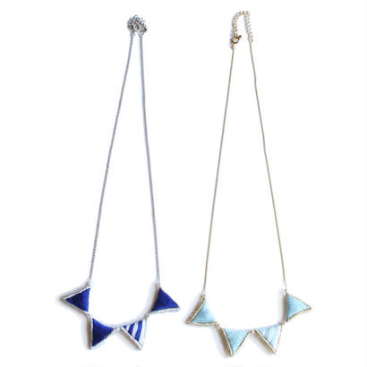PRISM GARLAND NECKLACE (STRIPE)