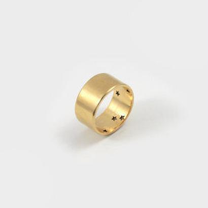 Star Band Ring(gold)