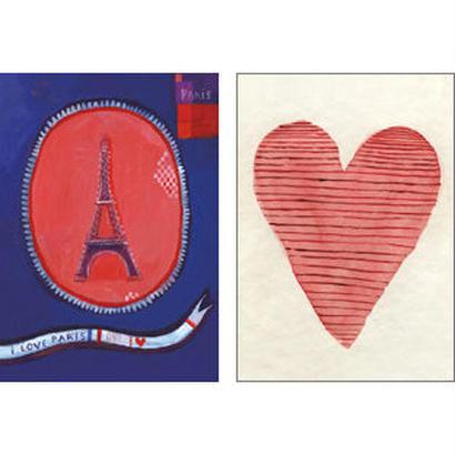 Small card set Coeurs | Aurélia Fronty