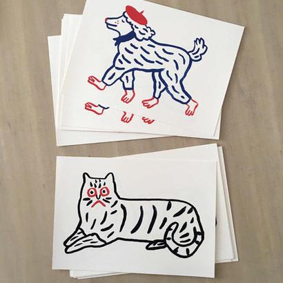 "Print limited ""car, dog, cat"" | Marie Assénat"