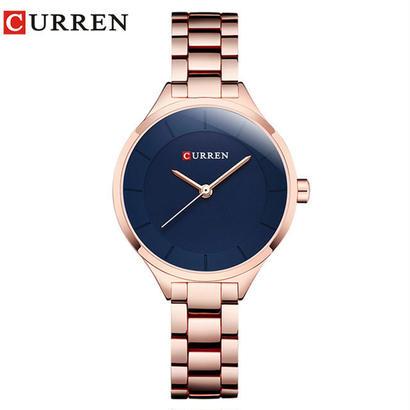 カレンローズゴールド腕時計 女性腕時計 ブレスレット腕時計 188