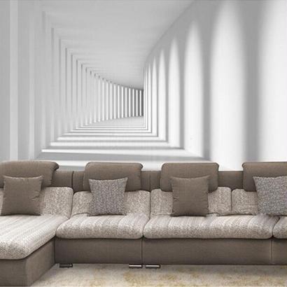 カスタム壁画壁紙 3D 抽象壁画 ソファ リビングルーム 背景 ホームインテリア 522 7/17