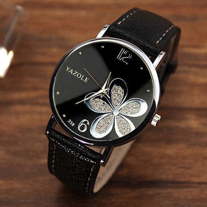 Yazole レディース腕時計女性 クォーツ時計 石英の腕時計 124