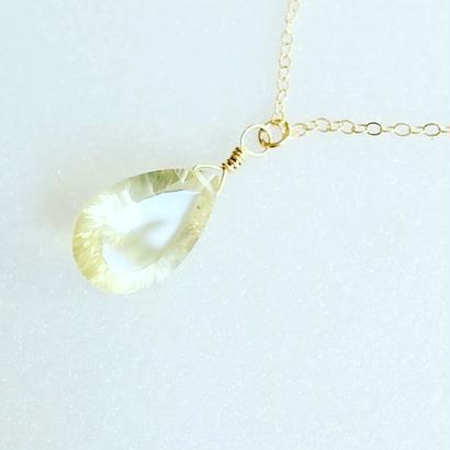 lemon quartz pendant(02)