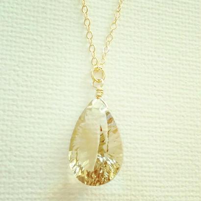 lemon quartz pendant(01)