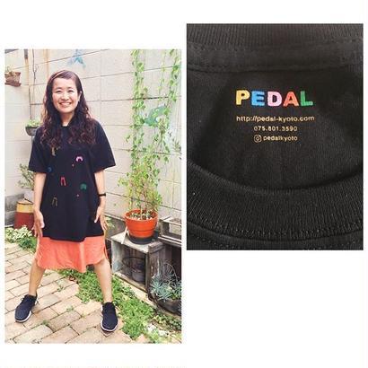 PEDAL オリジナルTシャツ(毛バッジ付き)